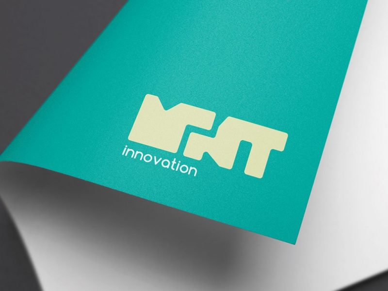 Mint innovations logo mockup
